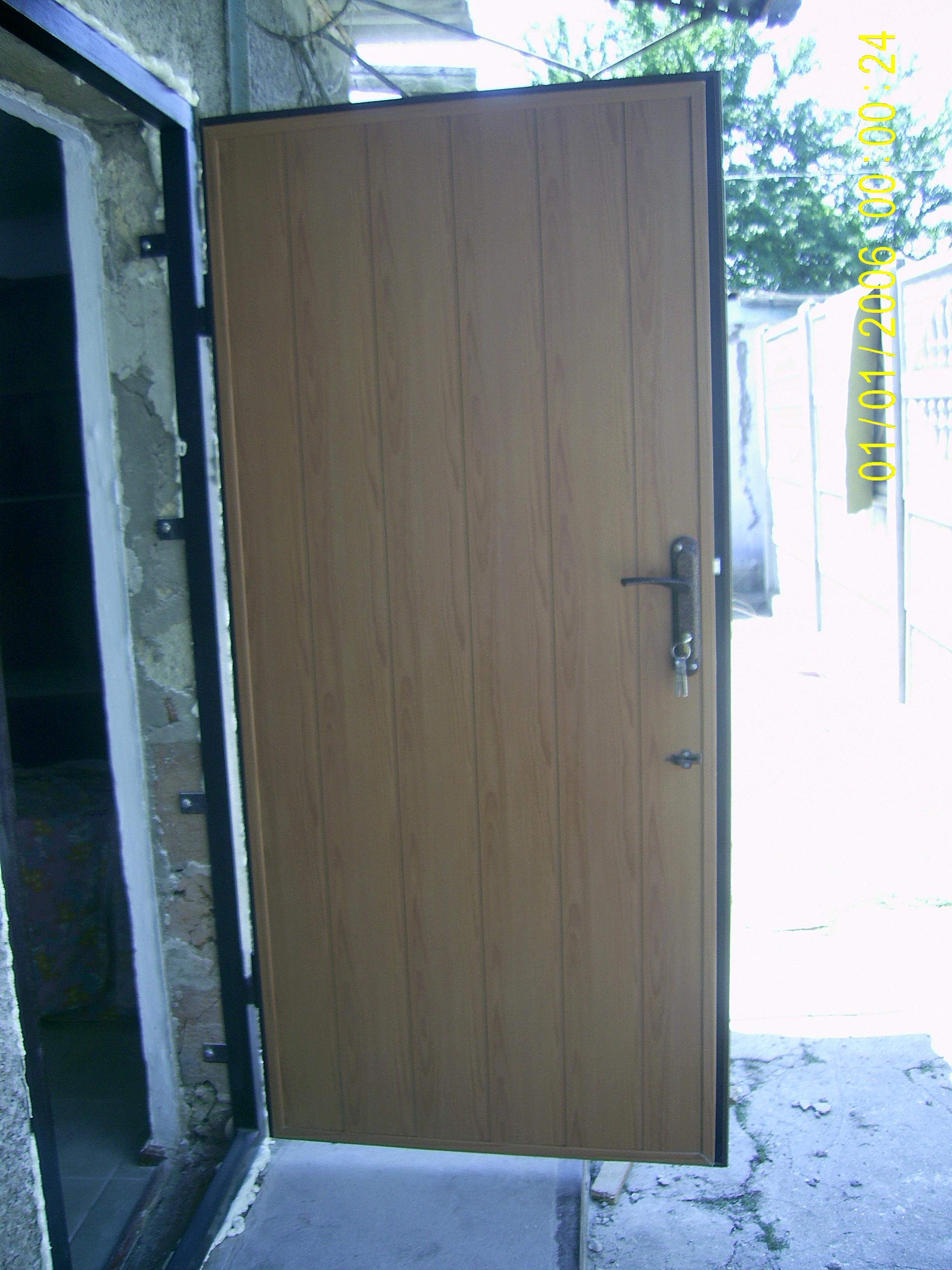 железная дверь сто к одному